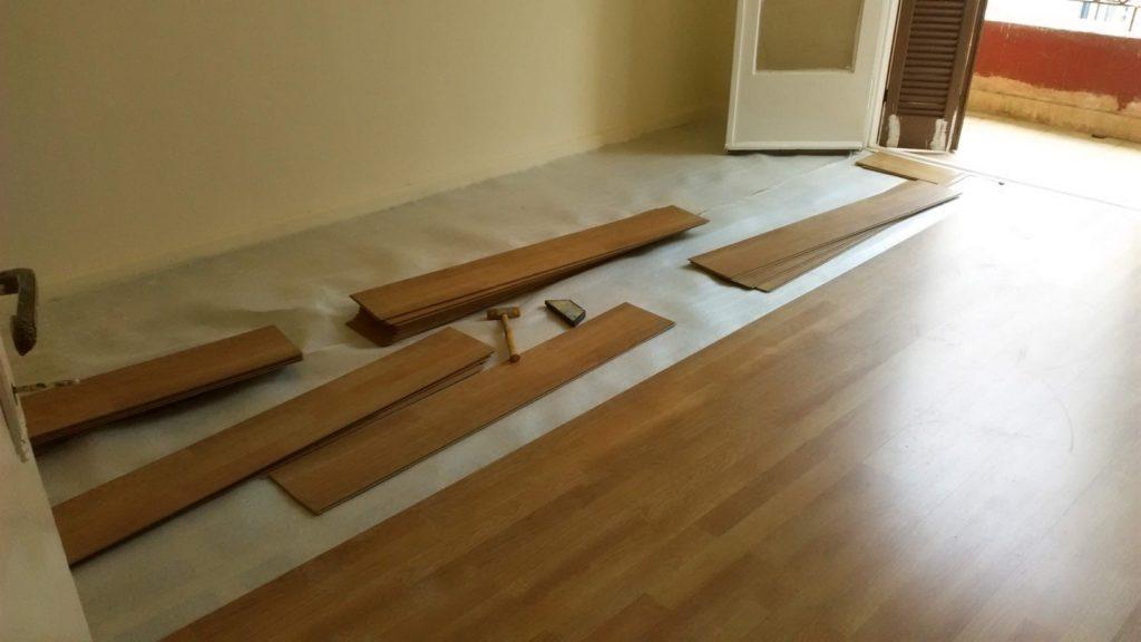 Τοποθέτηση Laminate Πάτωμα στο Κέντρο της Θεσσαλονίκης
