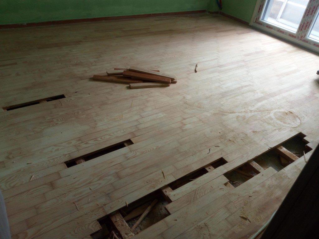συντήρηση ξύλινου πατώματος